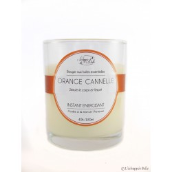 Bougie naturelle Orange - Cannelle